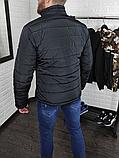 Куртка Puma демисезон чёрная, фото 6