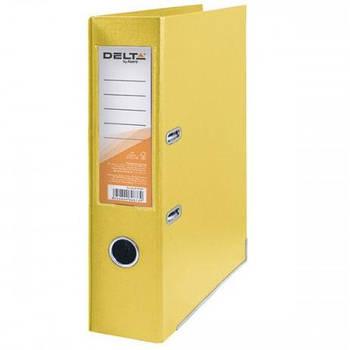 Папка регистратор А4 7,5см Delta D1712*_Желтый