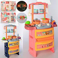 Кухня кукольная, плита, мойка-льется вода, Dream Kitchen 20 предметов, с эффектами света и звука, 768-3-4