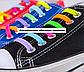 """Фіолетові силіконові шнурки різної довжини для спортивного взуття. """"Ледачі шнурки"""". Гумові шнурки для кросівок, фото 5"""