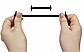 """Помаранчеві силіконові шнурки різної довжини для спортивного взуття. """"Ледачі шнурки"""". Гумові шнурки для кросівок, фото 6"""