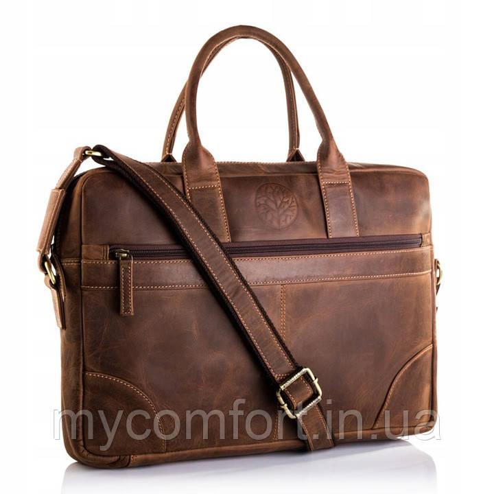 Чоловіча ділова сумка для ноутбука BETLEWSKI
