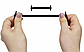 """Коричневые силиконовые шнурки разной длины для спортивной обуви. """"Ленивые шнурки"""".Цветные шнурки для кроссовок, фото 6"""