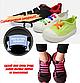 """Коричневі силіконові шнурки різної довжини для спортивного взуття. """"Ледачі шнурки"""". Гумові шнурки для кросівок, фото 10"""