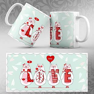 Чашка 14 февраля День Святого Валентина 04