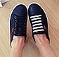 """Синие силиконовые шнурки разной длины для спортивной обуви. """"Ленивые шнурки"""". Цветные шнурки для кроссовок, фото 7"""
