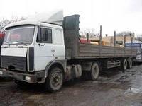 Грузовые перевозки длинномерами по Луганской области