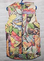 """Жилетка дитячий демісезонний стьобана на дівчинку 2-5 років (7цв) """"SKAZKA"""" купити недорого від прямого постачальника"""