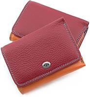Маленький кожаный кошелек с большой монетницей ST Leather (16004)
