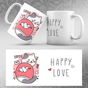 Чашка 14 февраля День Святого Валентина 09