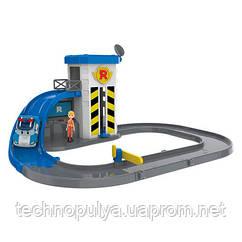 Трек с подъемником и металлической машинкой Robocar Poli (83316)