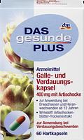 Биологически активная добавка Das Gesunde Plus Galle und Verdauungskapsel, 60 шт.