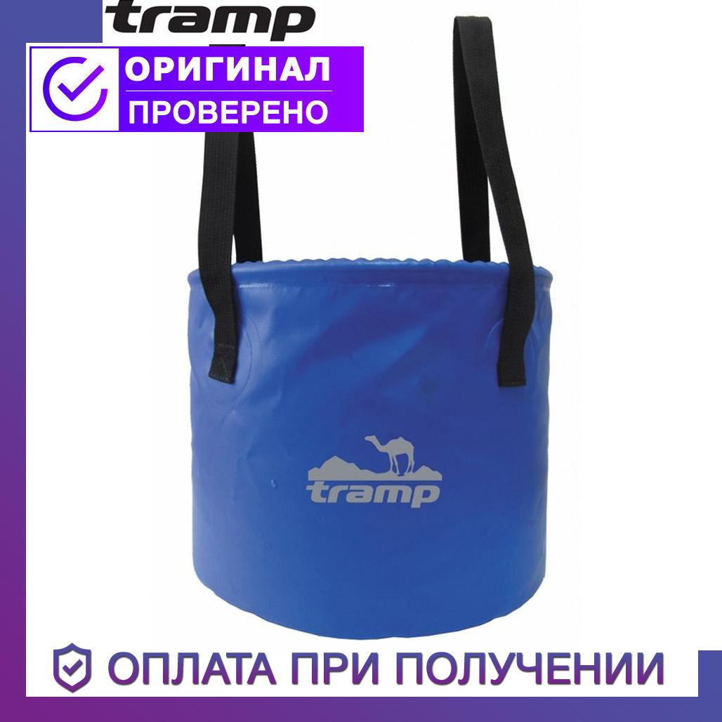 Ведро складное Tramp из нейлона Трэмп 8 л, TRC-070