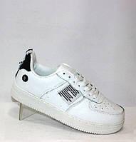 Мужские кроссовки на каждый день белого цвета, фото 1