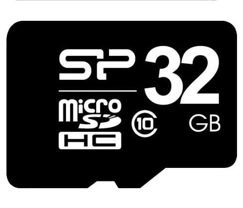 Карта памяти Silicon Power microSDHC 32Gb UHS-1 (Class 10) (R-40 Mb/s)
