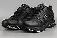 Кроссовки мужские черные Bona 802C-4 Бона великаны баталы Размеры 47 48, фото 1