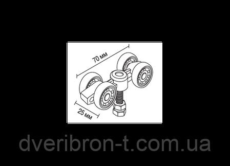 Комплект фурнитуры для раздвижных дверей SD-100, фото 2