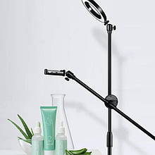 Штатив с лампой напольный для съемки сверху, творчество flatlay