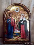 Икона писаная Святые мученики Адриан и Наталья - покровители семьи. Покровители супружества, фото 5