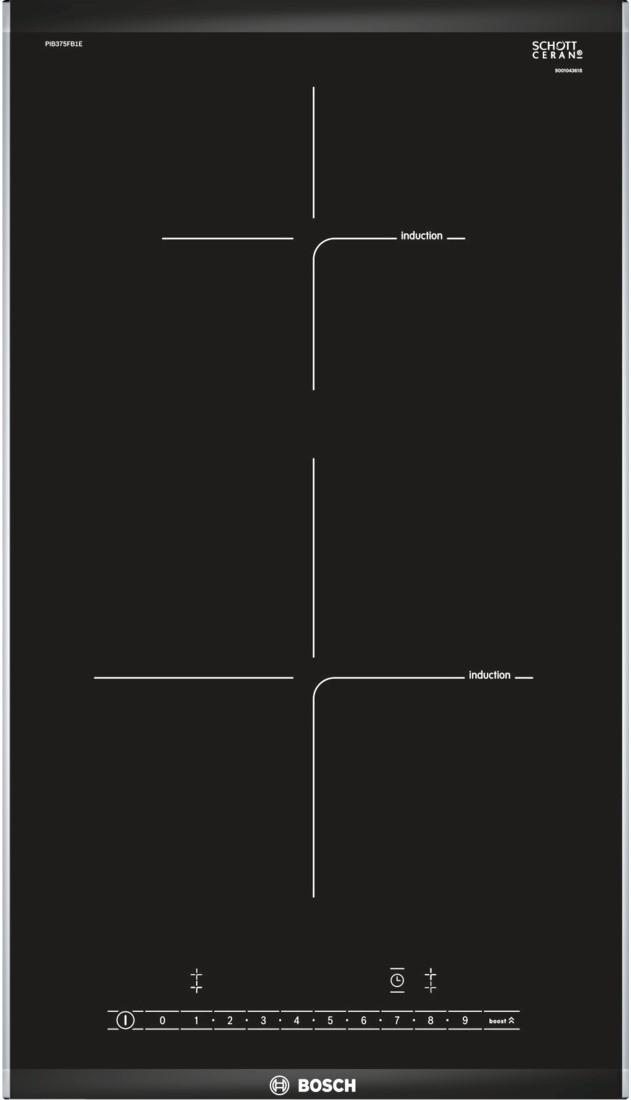 Індукційна варильна поверхня Bosch PIB375FB1E