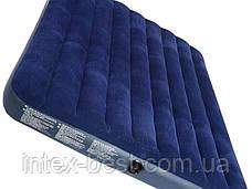 Матрас надувной Intex 68755 (203х183х22 см), фото 2