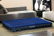 Матрас надувной Intex 68755 (203х183х22 см), фото 3