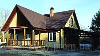Фасадна сайдинг-панелі Ю-ПЛАСТ (U-Plast) Цегла, Піщаник, Сланець, фото 8
