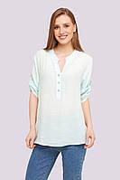 Рубашка женская, лен (XL-4XL) оптом купить от склада 7 км Одесса