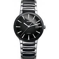 Часы наручные унисекс RADO CENTRIX 01.763.0941.3.015/R30941152, автоподзавод, керамика - сталь, биколор