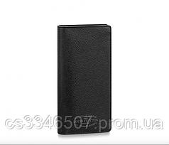 Бумажник Louis Vuitton Brazza Taiga Black