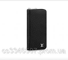 Бумажник Louis Vuitton Zippy Vertical Taiga Black