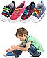 Детские шнурочки. Силиконовые шнурки для детской обуви. Красивые резиновые цветные шнурки. Цвет фиолетовый, фото 2