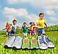 Детские шнурочки. Силиконовые шнурки для детской обуви. Красивые резиновые цветные шнурки. Цвет фиолетовый, фото 9