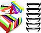 Детские шнурочки. Силиконовые шнурки для детской обуви. Красивые резиновые цветные шнурки. Цвет красный, фото 10
