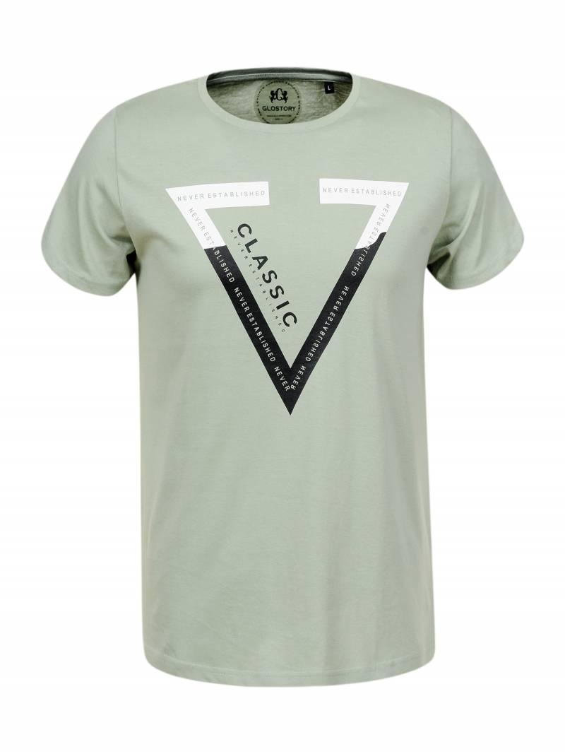Чоловіча футболка з триугольником