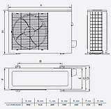 Кассетный кондиционер Lessar LS-HE55BMA4/LU-HE55UMA4/LZ-B4KBA, фото 5