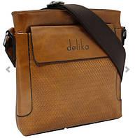 Винтажная удобная мужская сумочка.