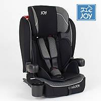 Детское автокресло (группа 1-2-3, 9-36кг) JOY ISOFIX 51226 Серо-черный