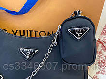 Женская сумка Prada Re-Edition 2005 Nylon. Сумка Прада, фото 3
