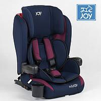 Детское автокресло (группа 1-2-3, 9-36кг) JOY ISOFIX 72583 Сине-красное