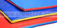 Спортивные маты, борцовские маты в чехле 50мм (НПЭ)