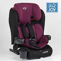 Детское автокресло (группа 1-2-3, 9-36кг) JOY ISOFIX 73180 Вишневое