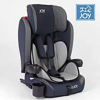 Детское автокресло (группа 1-2-3, 9-36кг) JOY ISOFIX 24812 Серо-синий