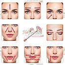 Роликовый кварцевый массажер для лица | Электрический вибрационный ролик FLAWLESS CONTOUR, фото 7