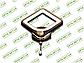 Светодиодный светильник 8060/1BHR (Черный хром) 12W, фото 3