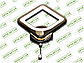 Светодиодный светильник 8060/1BHR (Черный хром) 12W, фото 2
