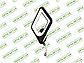 Светодиодный светильник 8060/1BHR (Черный хром) 12W, фото 4