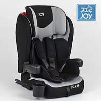 Детское автокресло (группа 1-2-3, 9-36кг) JOY ISOFIX 38148 Черно-серое
