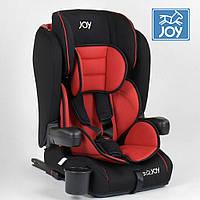 Детское автокресло (группа 1-2-3, 9-36кг) JOY ISOFIX 96710 Черно-красное