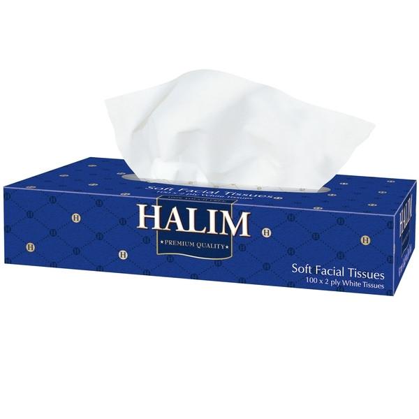Серветки косметичні Halim 100шт.